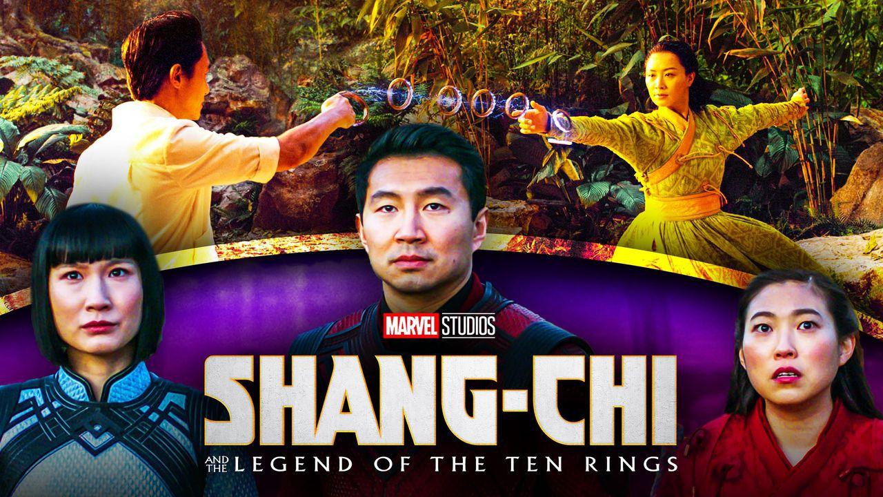 Shang-Chi Simu Liu Awkwafina