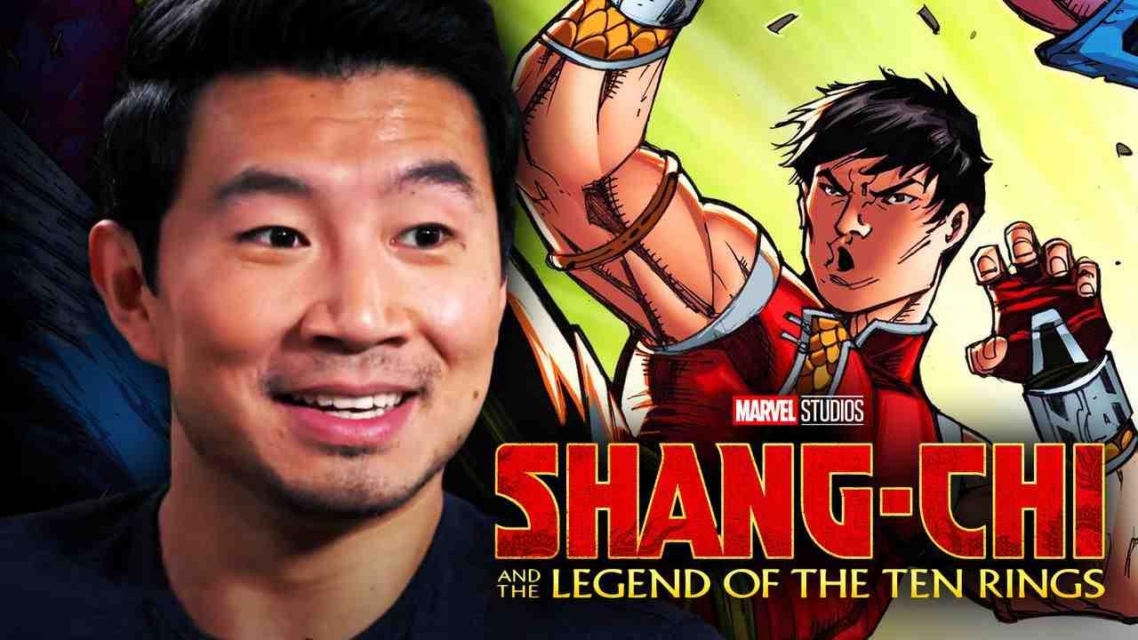 Simu Liu, Shang-Chi in the comics, Shang-Chi and the Legend of the Ten Rings logo