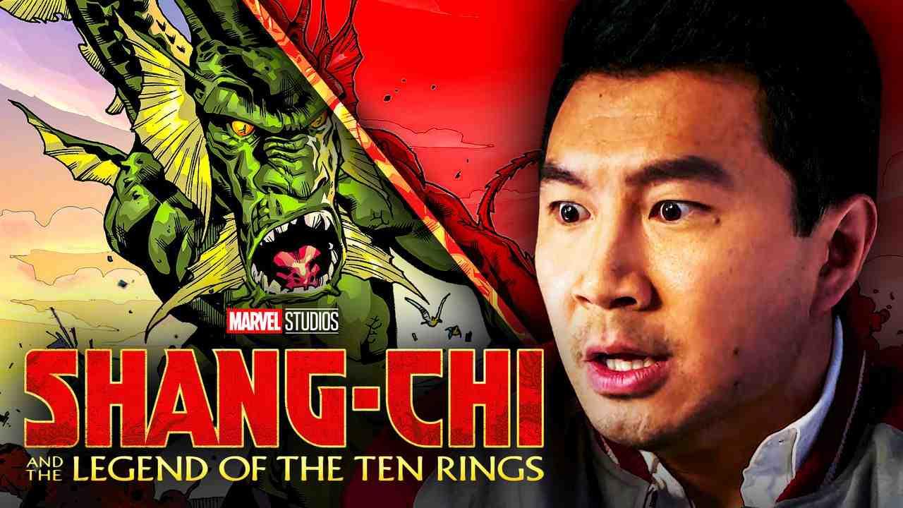 Simu Liu Fin Fang Foom Shang-Chi