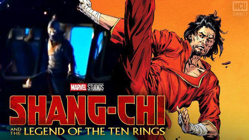 Shang-Chi Australian Set Photos