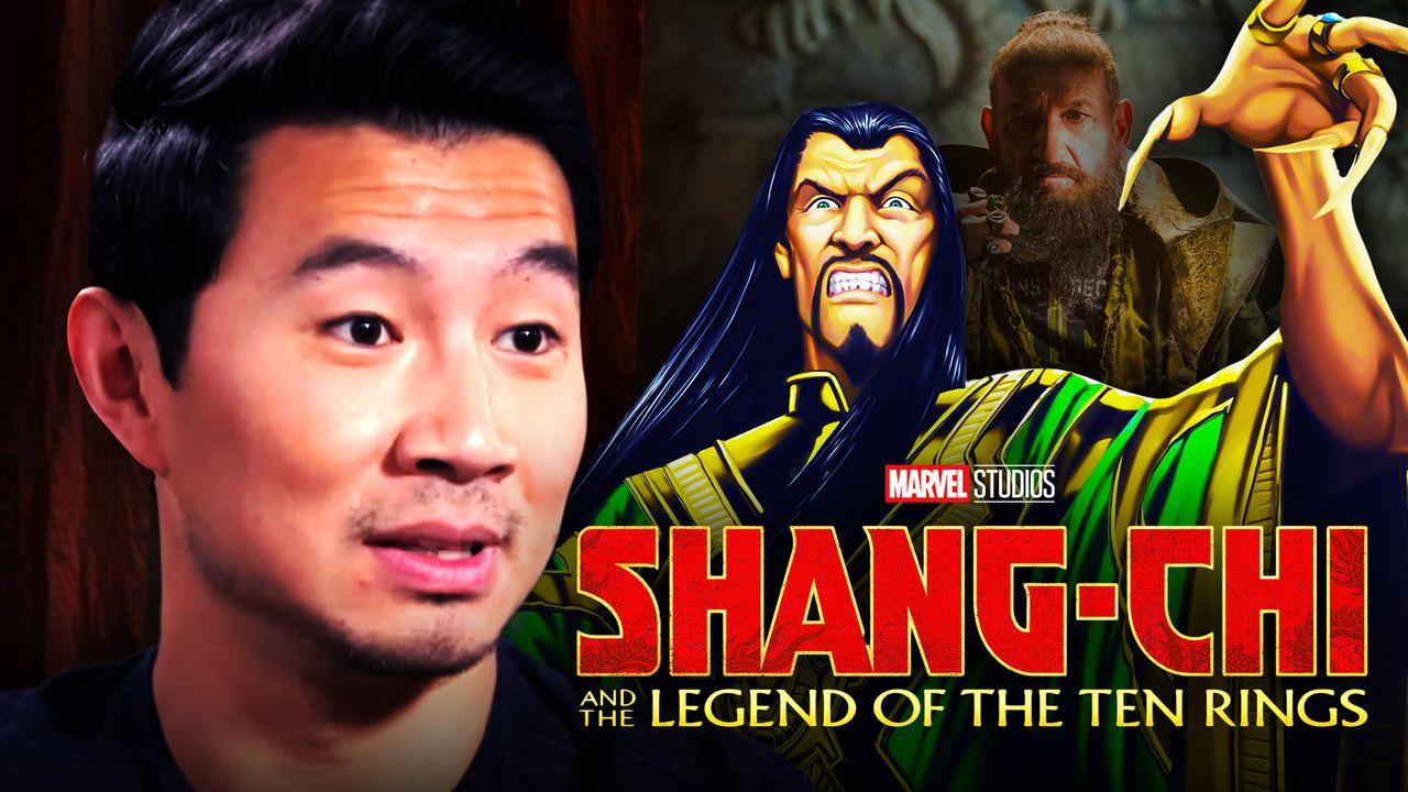 Simu Liu and The Mandarin