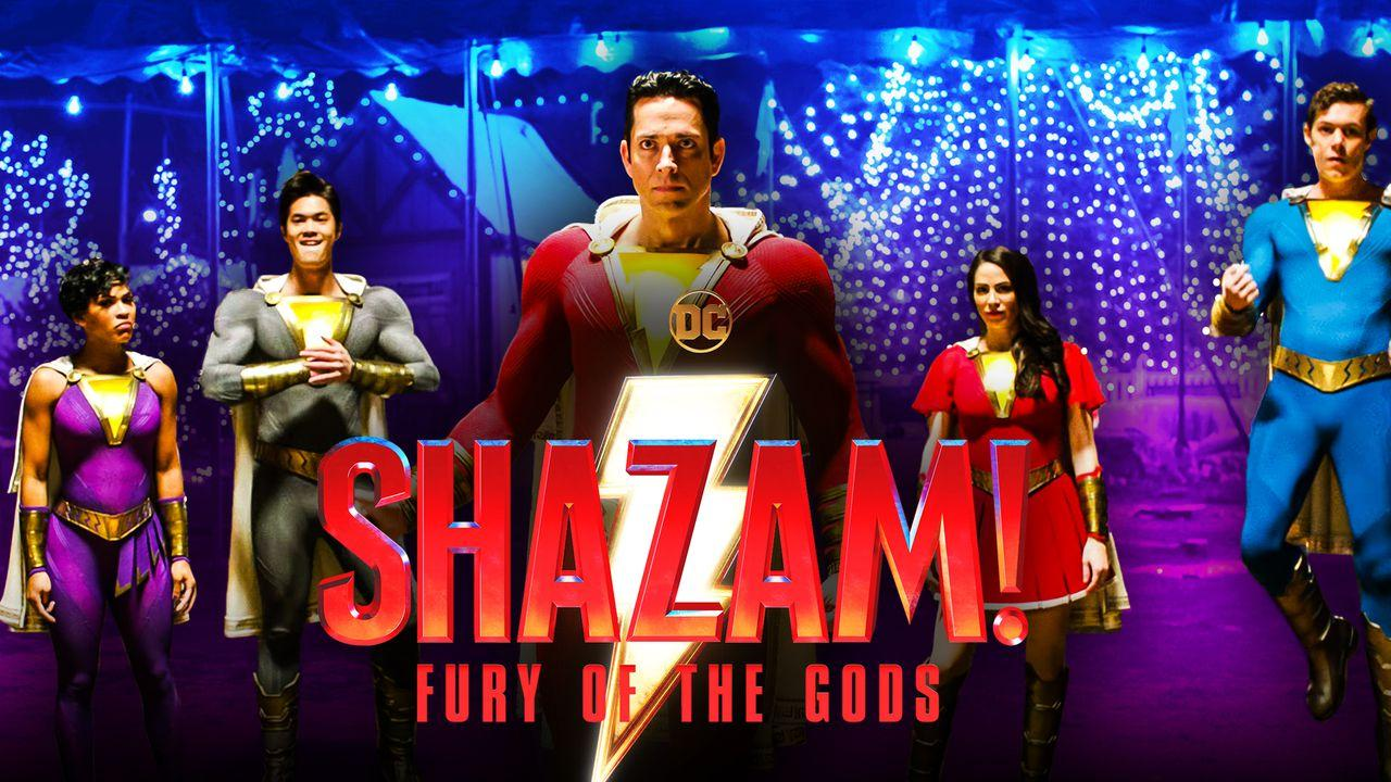 Shazam Family Movie Superhero Costumes