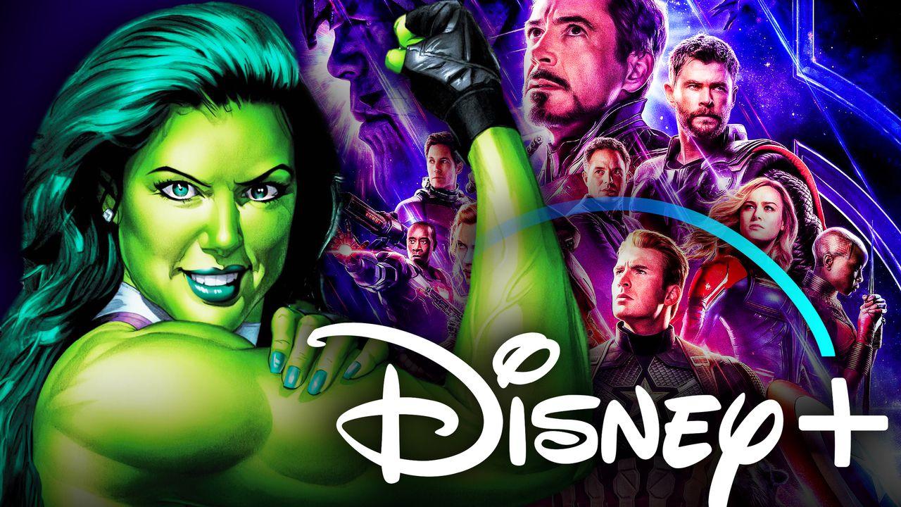 She-Hulk Disney Plus Avengers Endgame