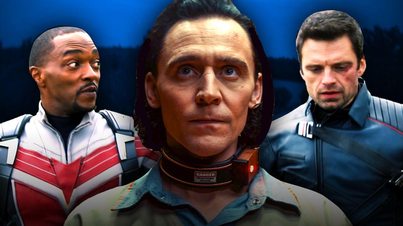Falcon, Loki, Bucky