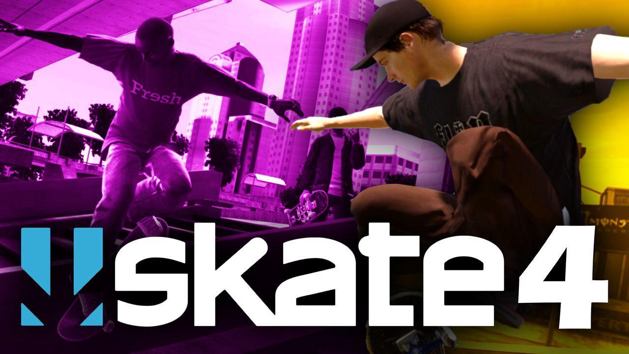 Skate 4 Logo Skaters