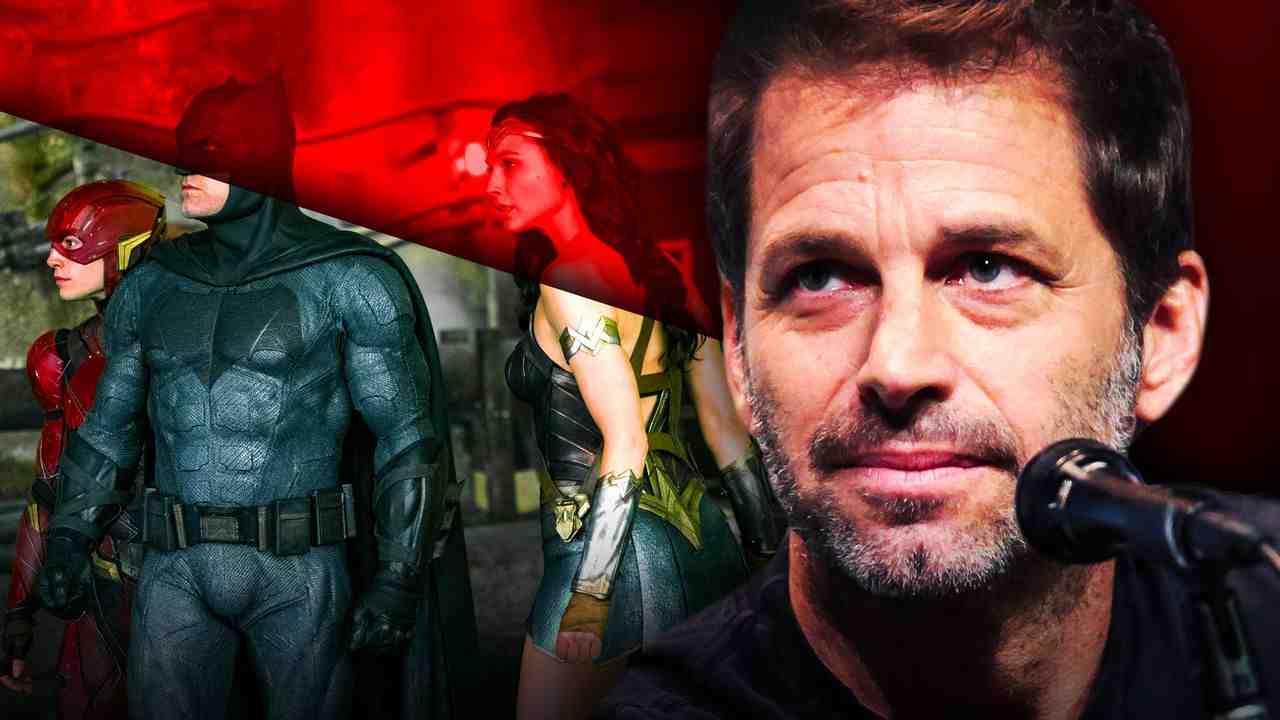 Justice League, Zack Snyder