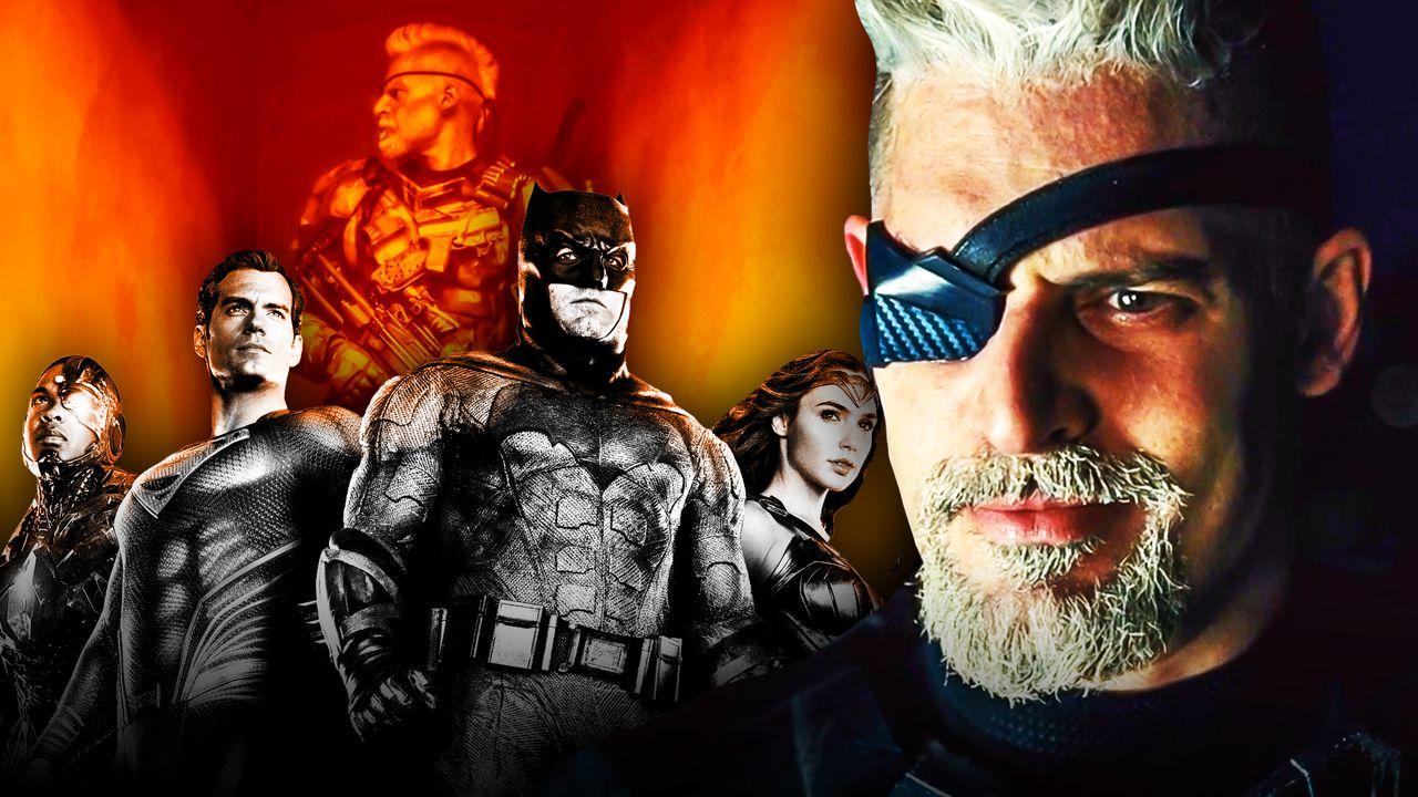 Justice League, Joe Manganiello as Deathstroke