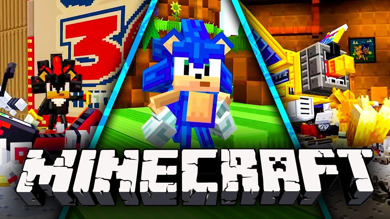 Sonic DLC for Minecraft