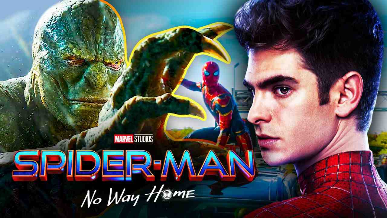 Andrew Garfield Lizard Spider-Man