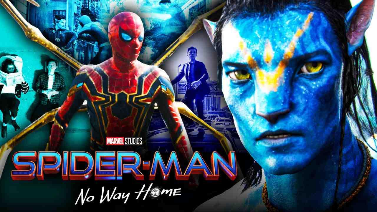 Avatar, Spider-Man: No Way Home logo, Spider-Man