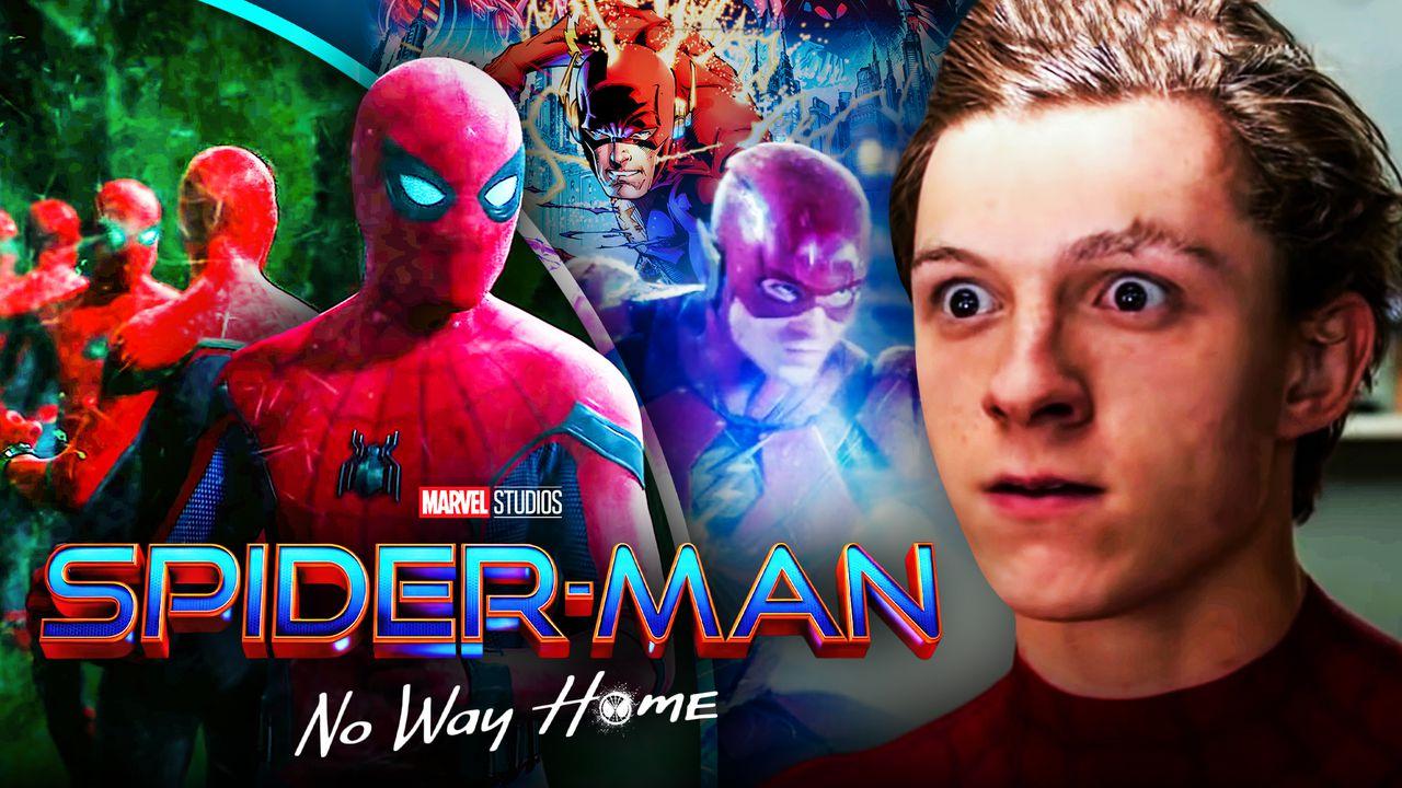 Spider-Man No Way Home DC Flash Superhero