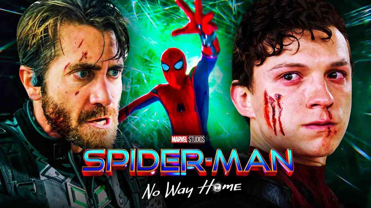 Mysterio, Spider-Man, Peter Parker, Spider-Man: No Way Home