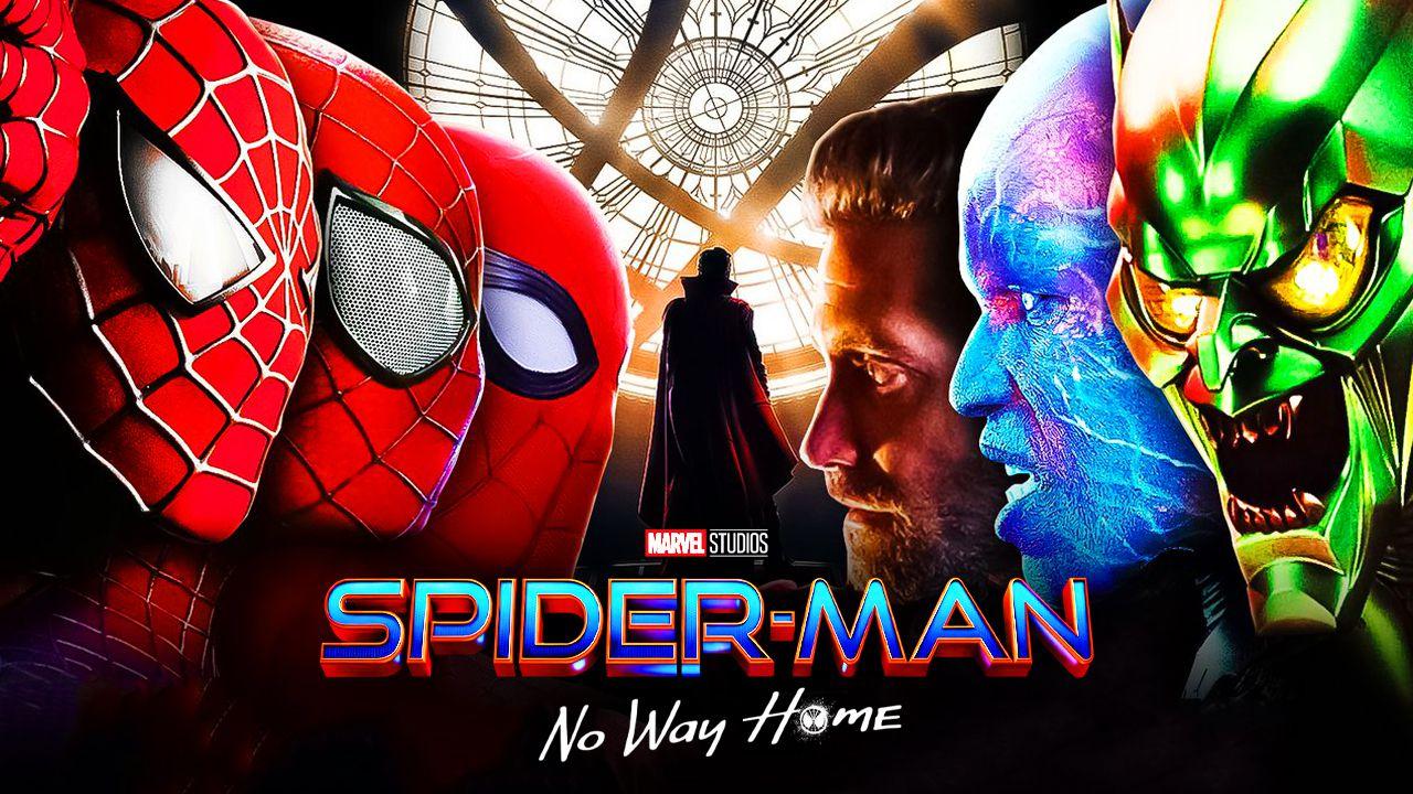 Spider-Man No Way Home Spider-Men Villains