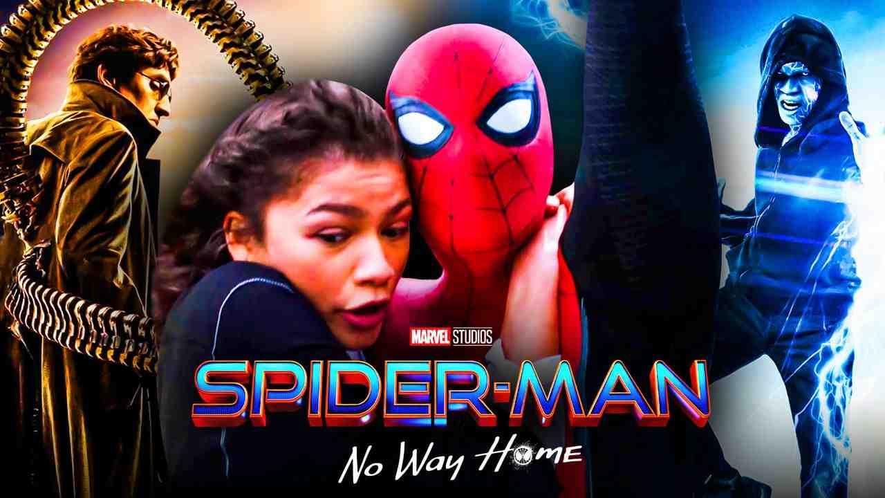 Spider-Man Zendaya Doc Ock Electro
