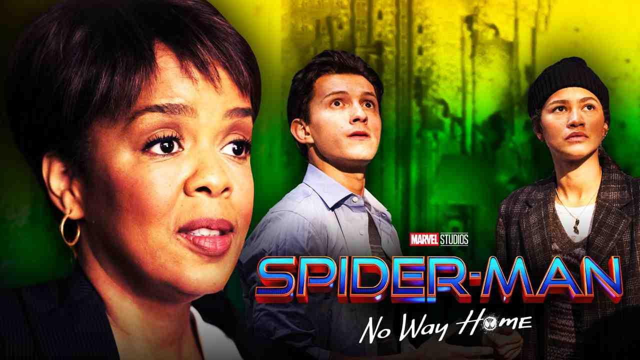 Spider-Man 3 Tom Holland Zendeya Paula Newsome