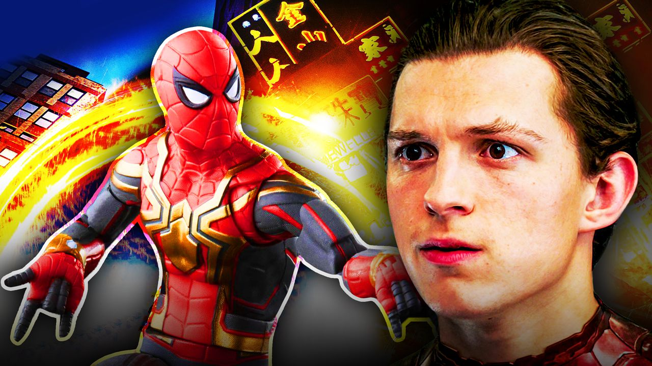 Spider-Man: No Way Home, Tom Holland, Integration suit