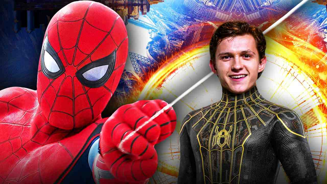 Spider-Man Tom Holland suit