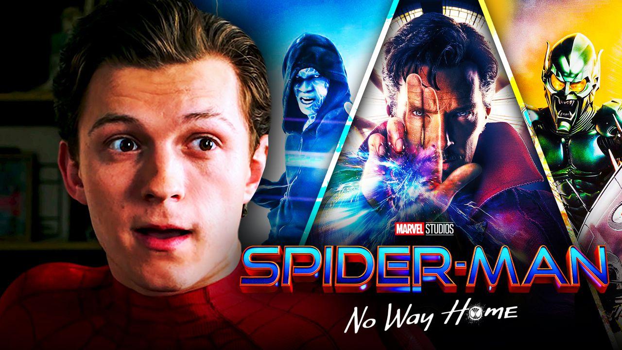 Spider-Man No Way Home Doctor Strange Electro, Green Goblin