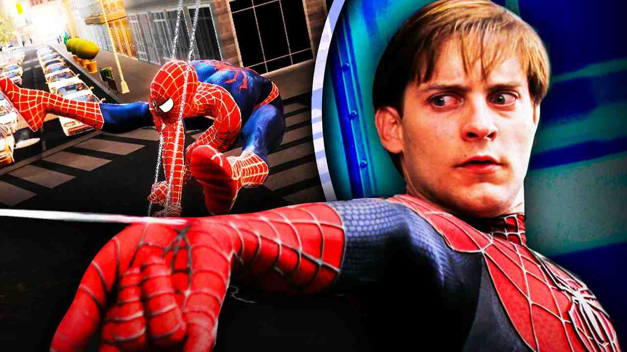 Spider-Man 4 Tobey Maguire Video Game