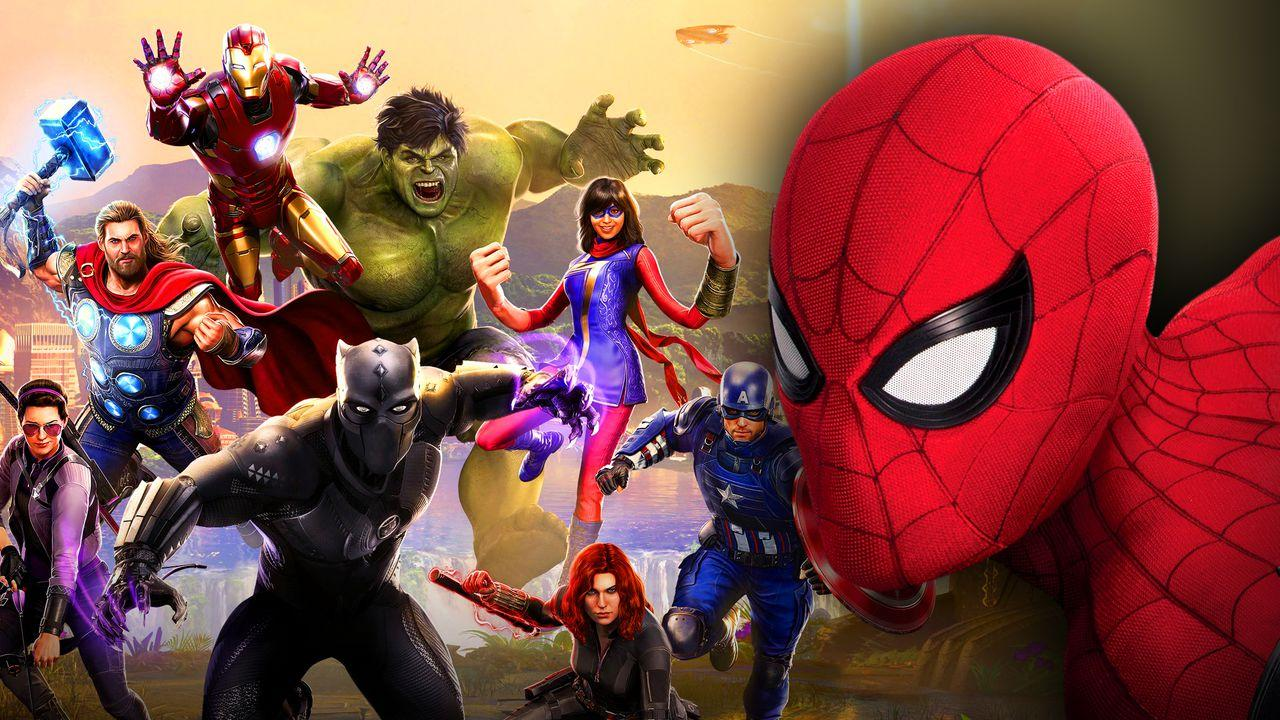 Avengers Game Characters, Spider-Man