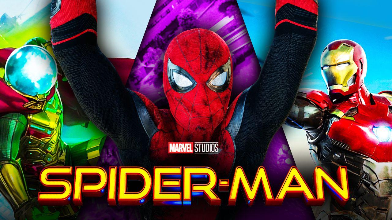 Spider-Man Mysterio Iron Man