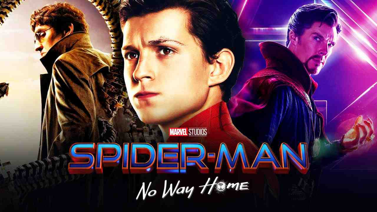 Spider-Man No Way Home Doctor Octopus Doctor Strange