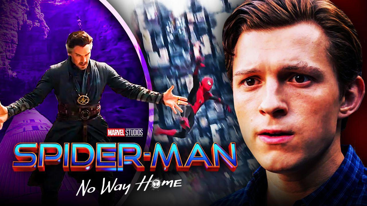 Doctor Strange Peter Parker Spider-Man No Way Home