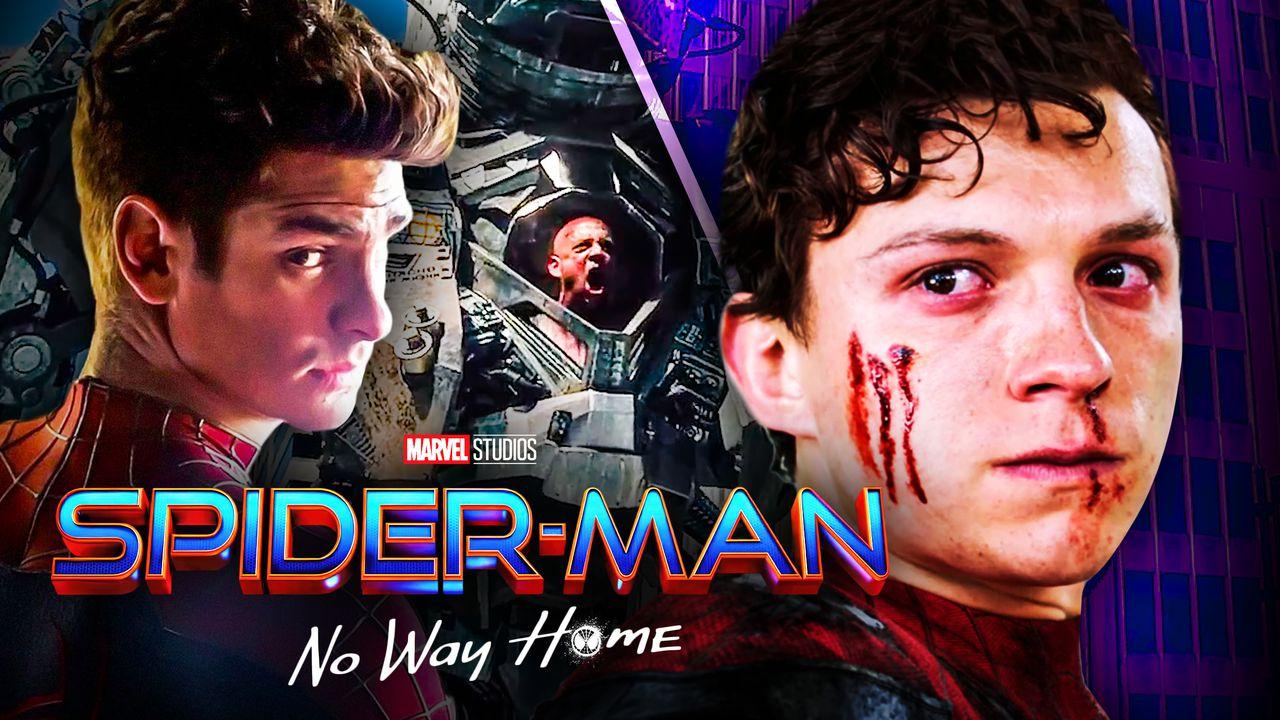 Spider-Man No Way Home Tom Holland Andrew Garfield Rhino