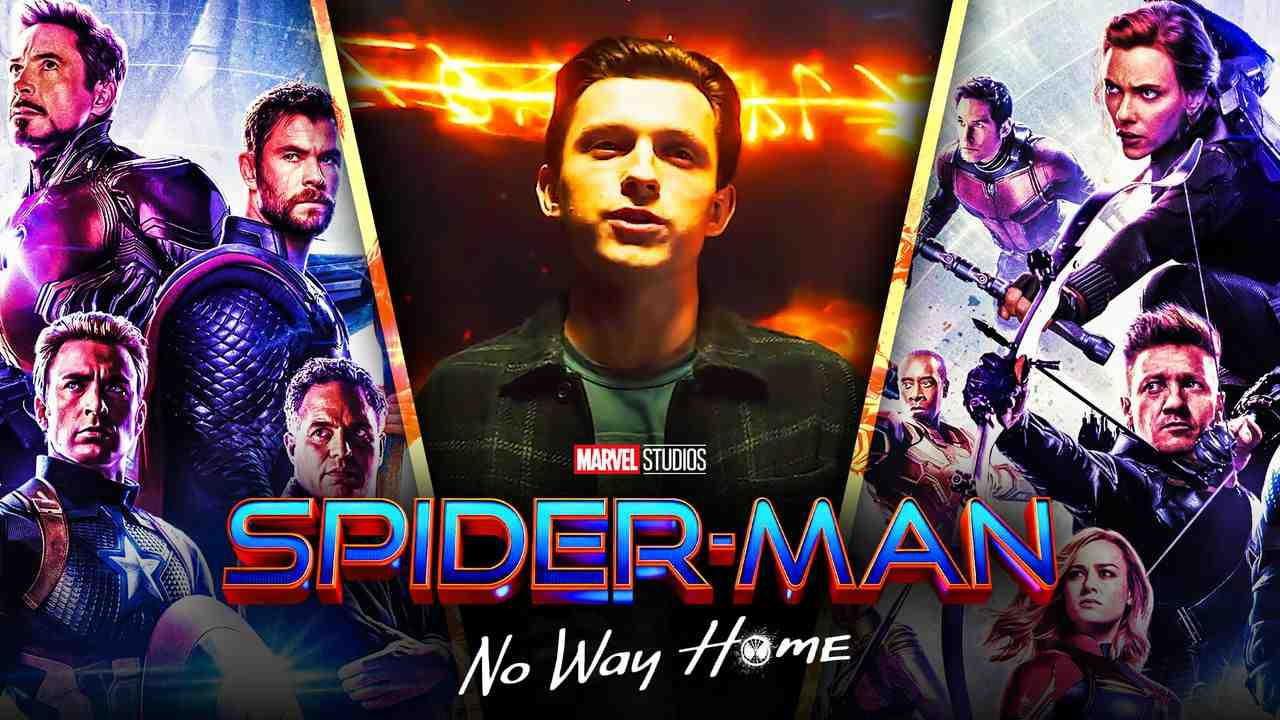Spider-Man No Way Home Avengers