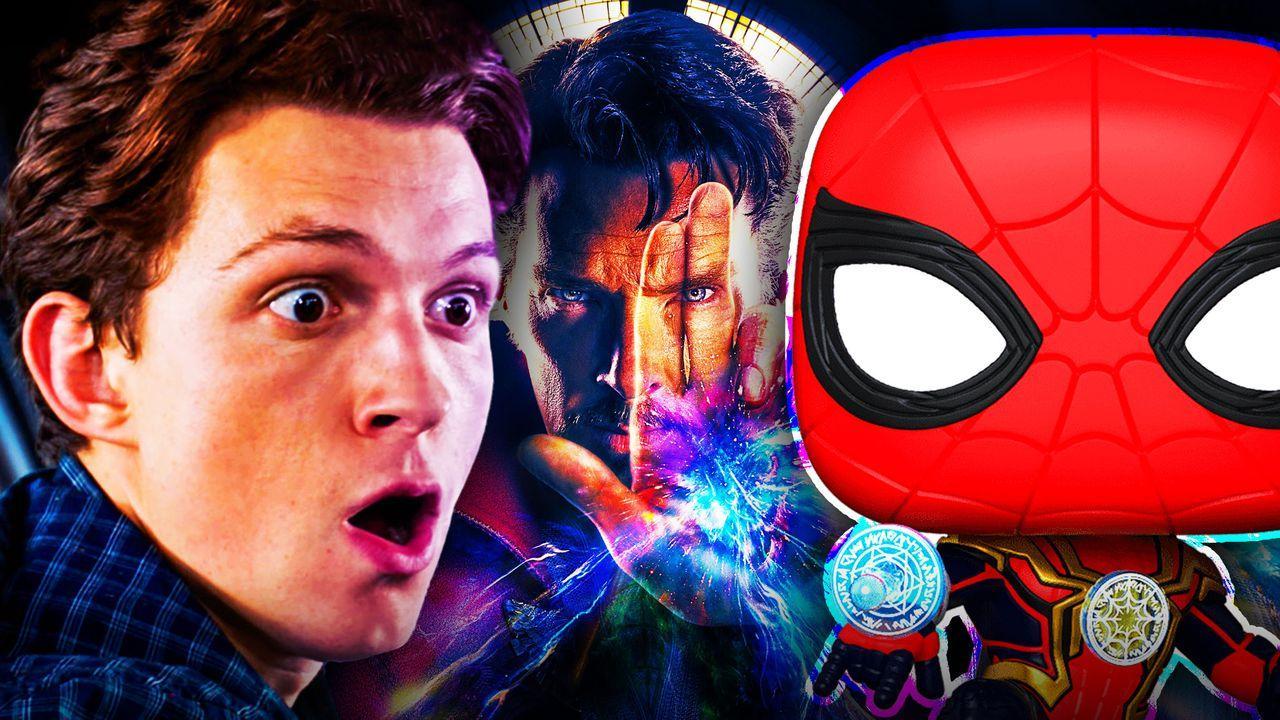 Spider-Man Tom Holland Peter Parker Doctor Strange Funko Magic