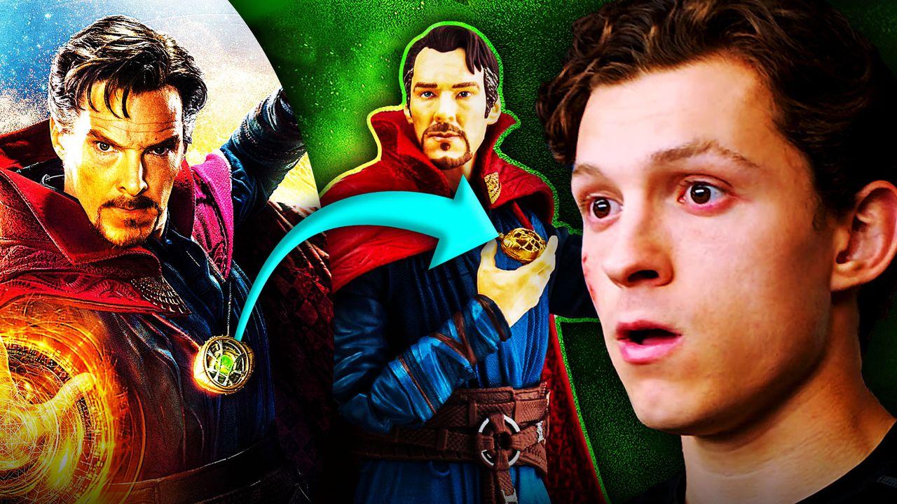 Doctor Strange, Peter Parker, Eye of Agamotto, Doctor Strange Action Figure