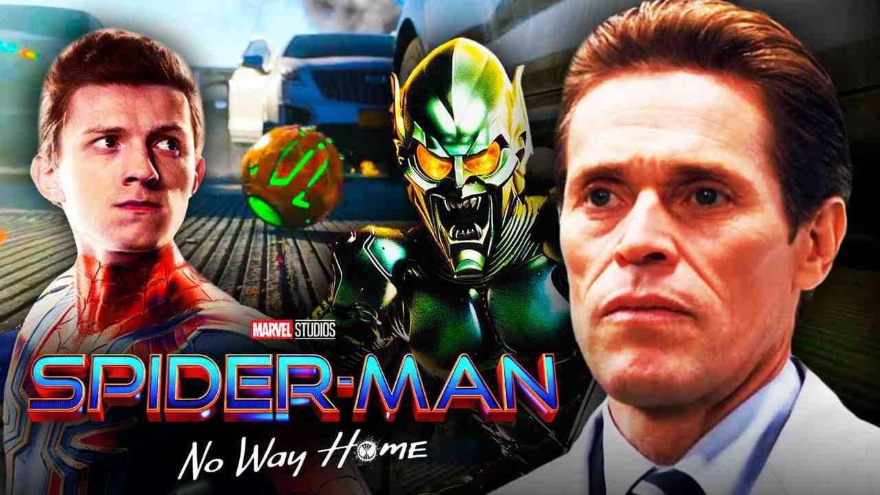 Spider-Man Green Goblin Willem Dafoe No Way Home