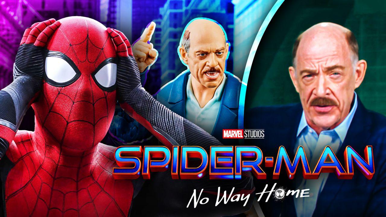 J.K. Simmons as J. Jonah Jameson Spider-Man No Way Home