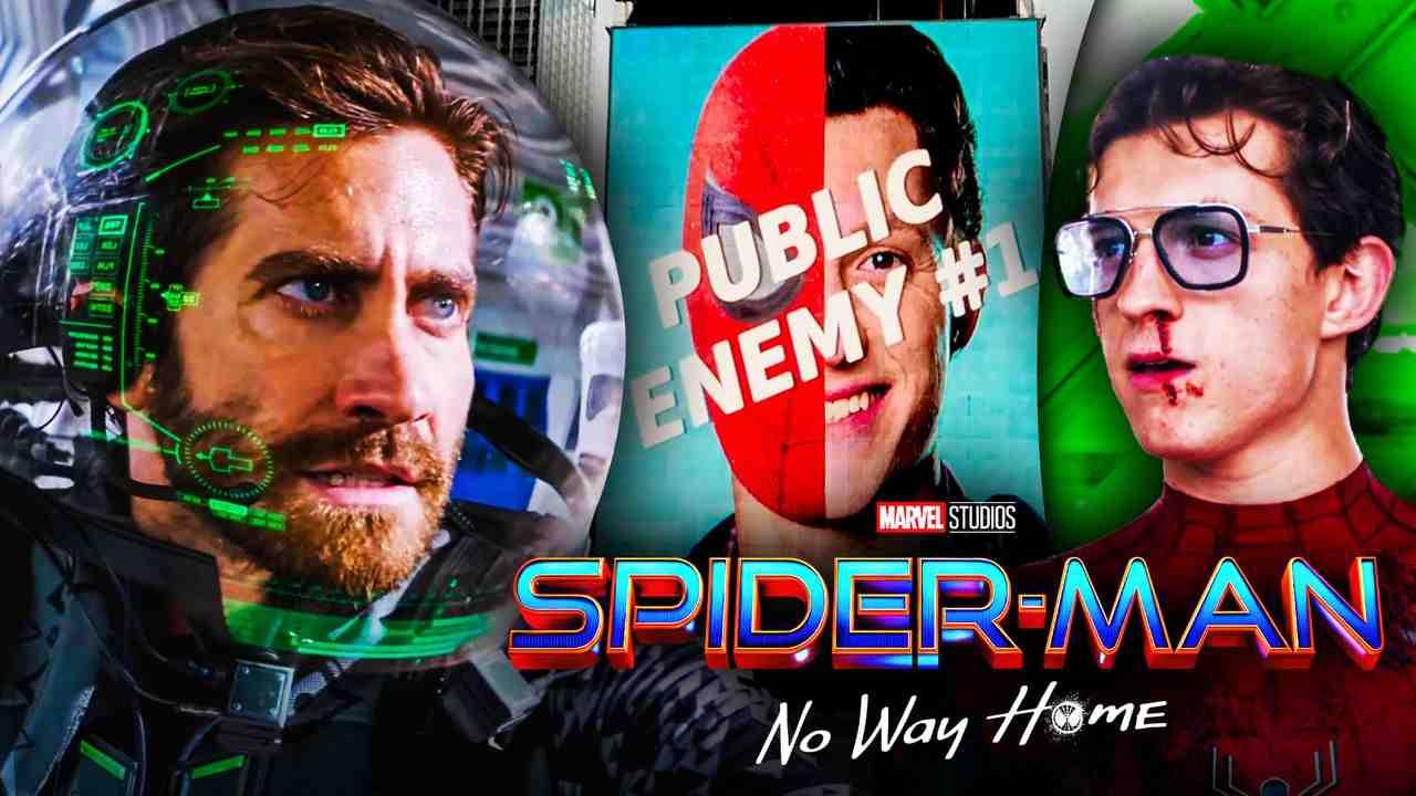 Spider-Man-No Way Home Mysterio Tom Holland