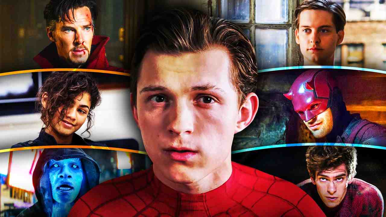 Spider-Man No Way Home Tom Holland Characters