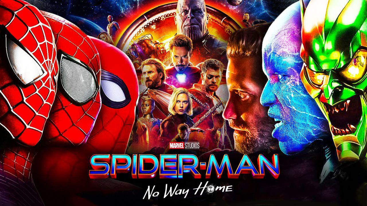 Spider-Man-Man No Way Home Villains Avengers Infinity War