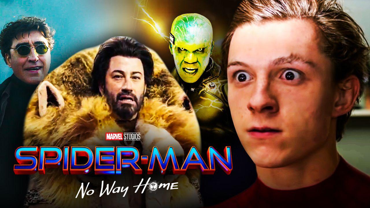 Spider-Man, MCU, Marvel, Tom Holland, Jimmy Kimmel, Kraven the Hunter