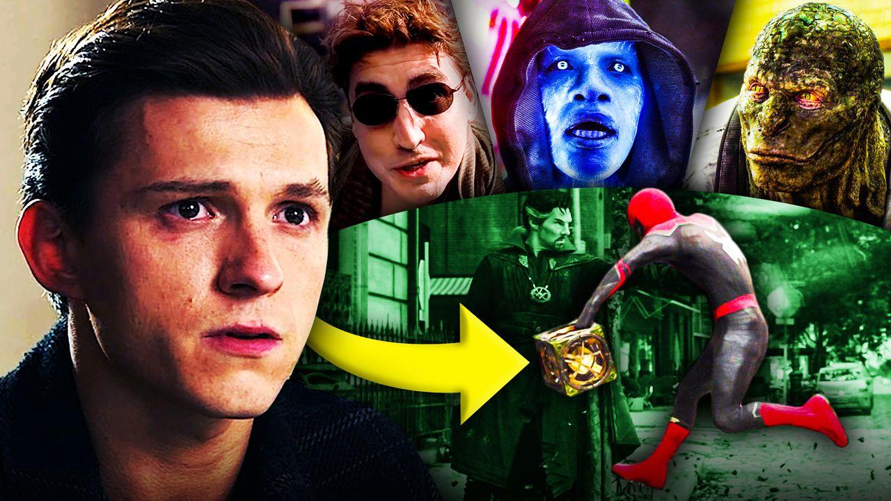 Spider-Man No Way Home Villain box