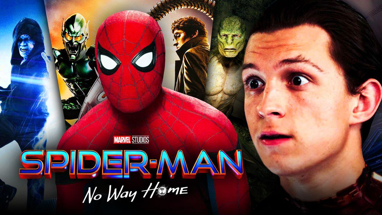 Spider Man No Way Home villains box