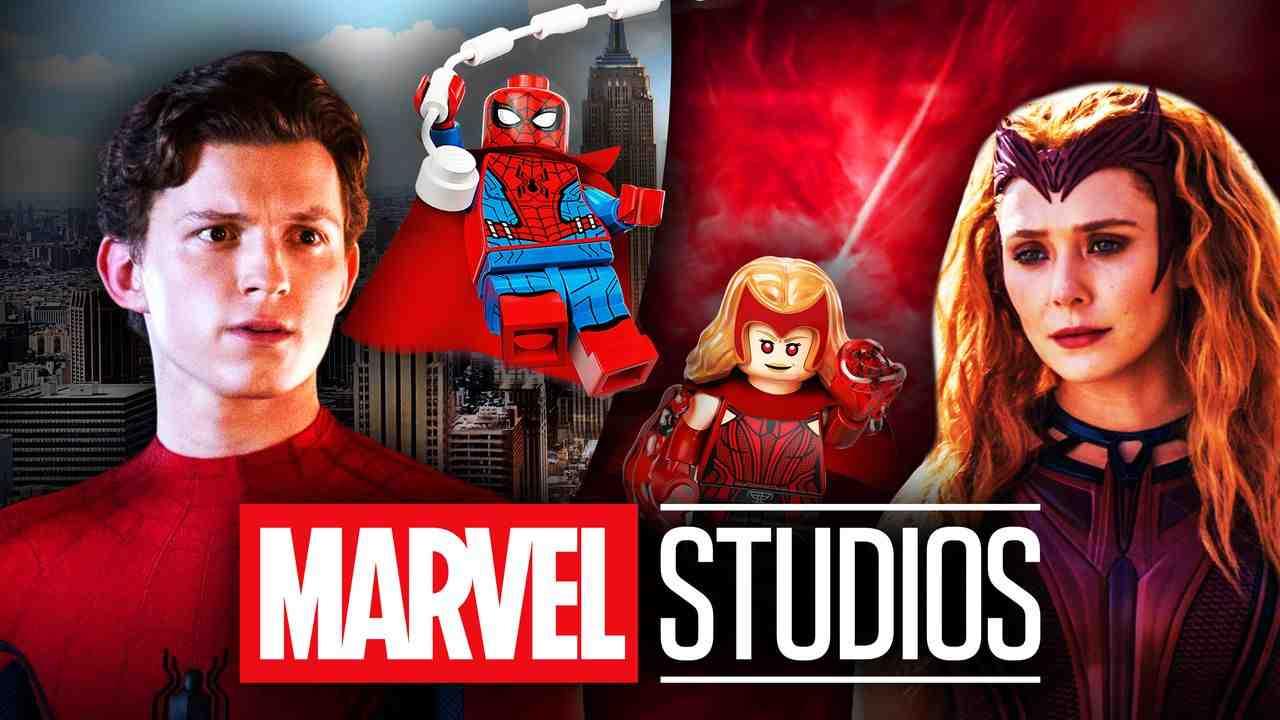 Spider-Man Scarlet Witch LEGOS