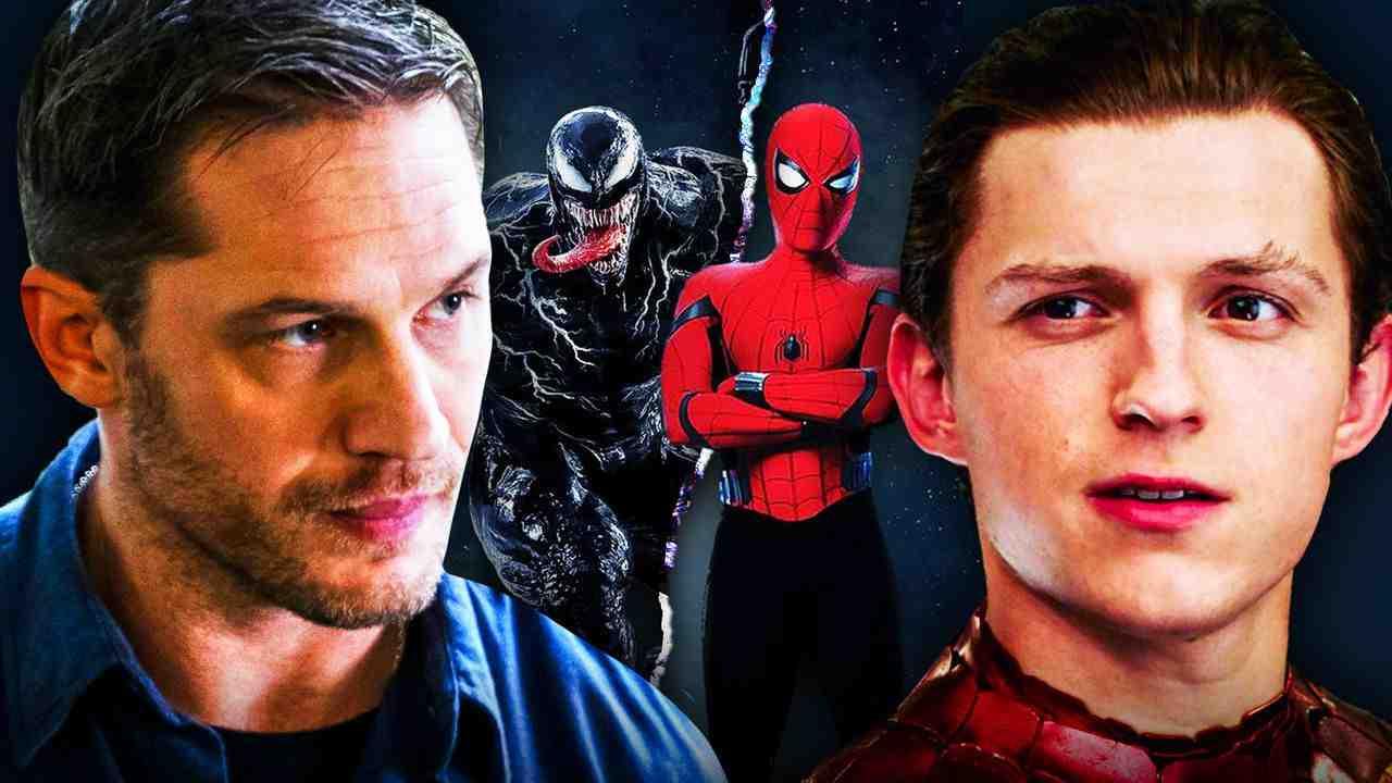 Venom Tom Hardy Spider-Man Tom Holland
