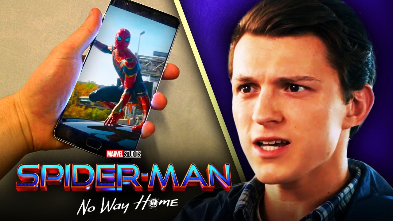 Spider-Man No Way Home trailer phone Leak