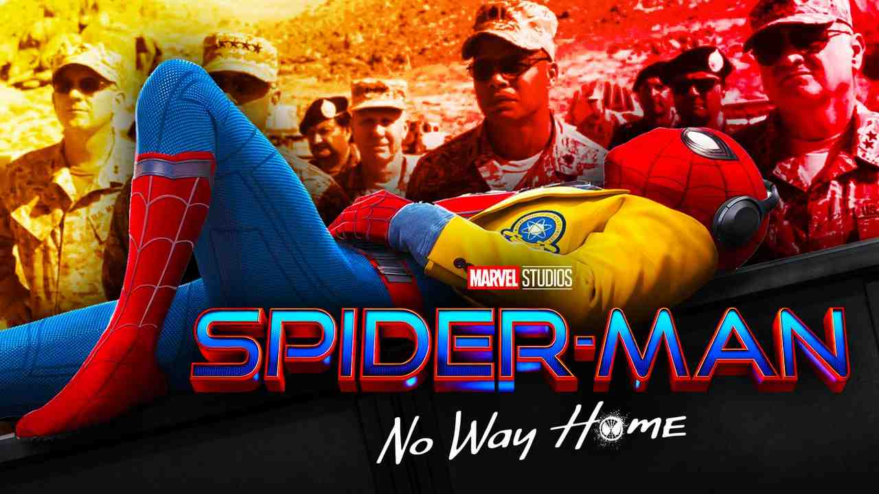 Spider-Man No Way Home logo, military