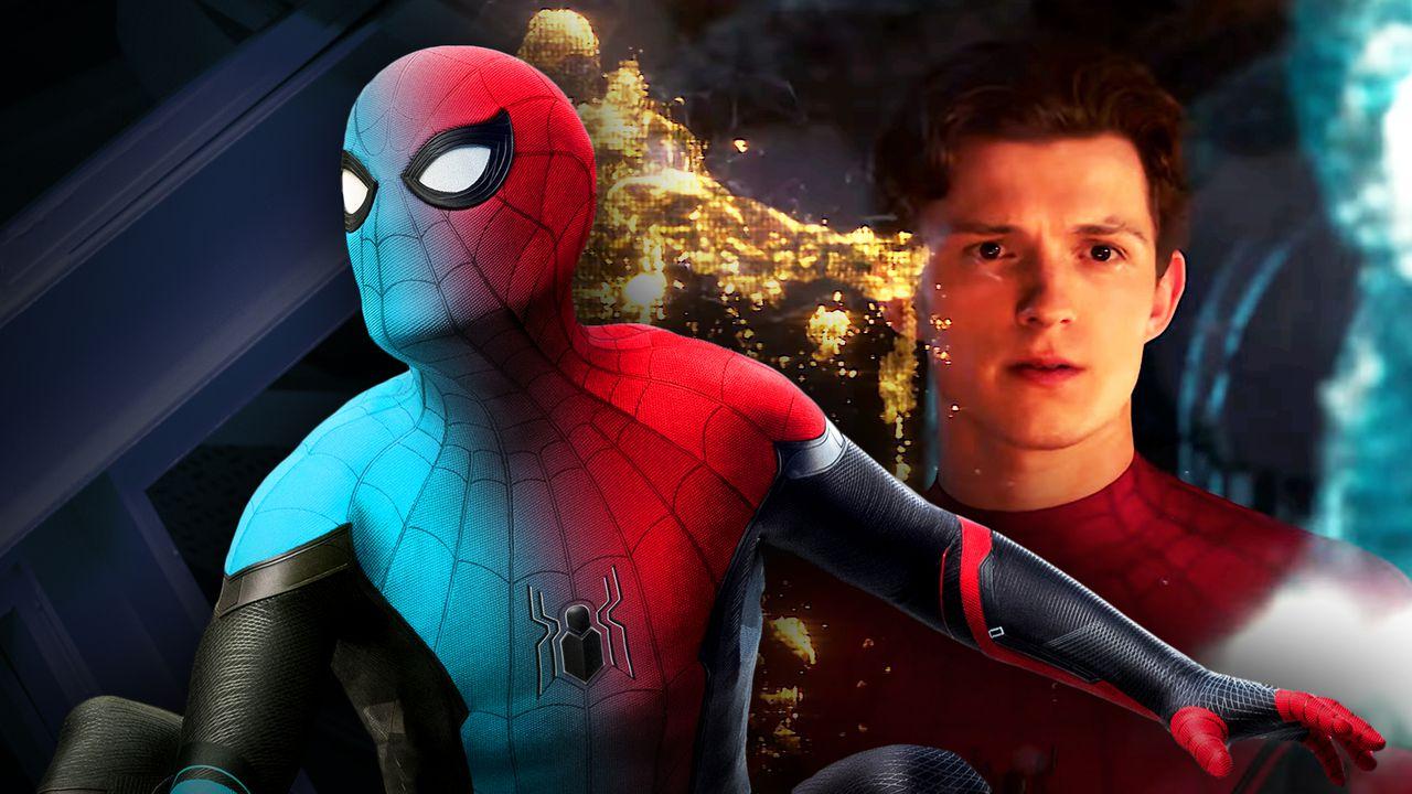 Spider-Man Costume Blue Peter Parker