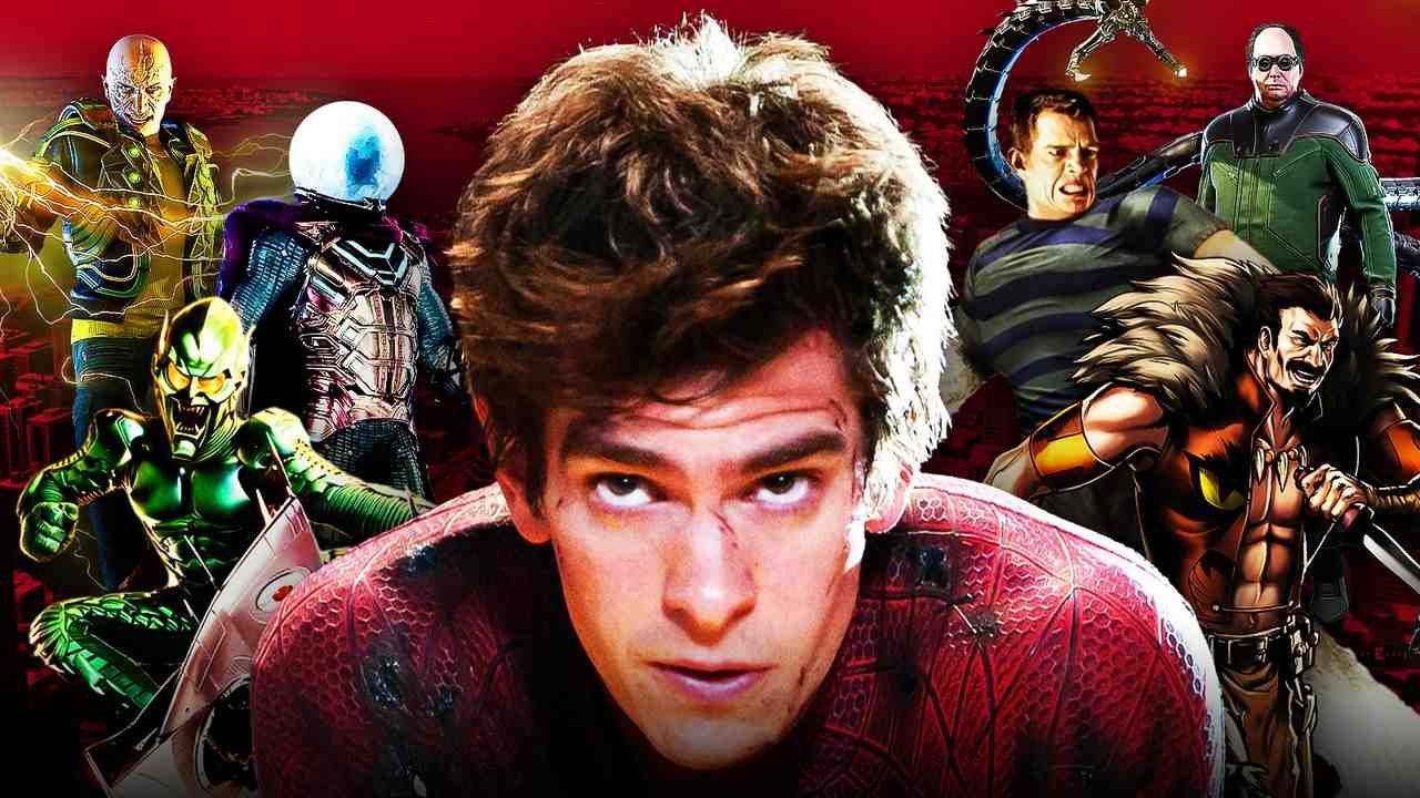 Andrew Garfield Spider-Man Sinister Six