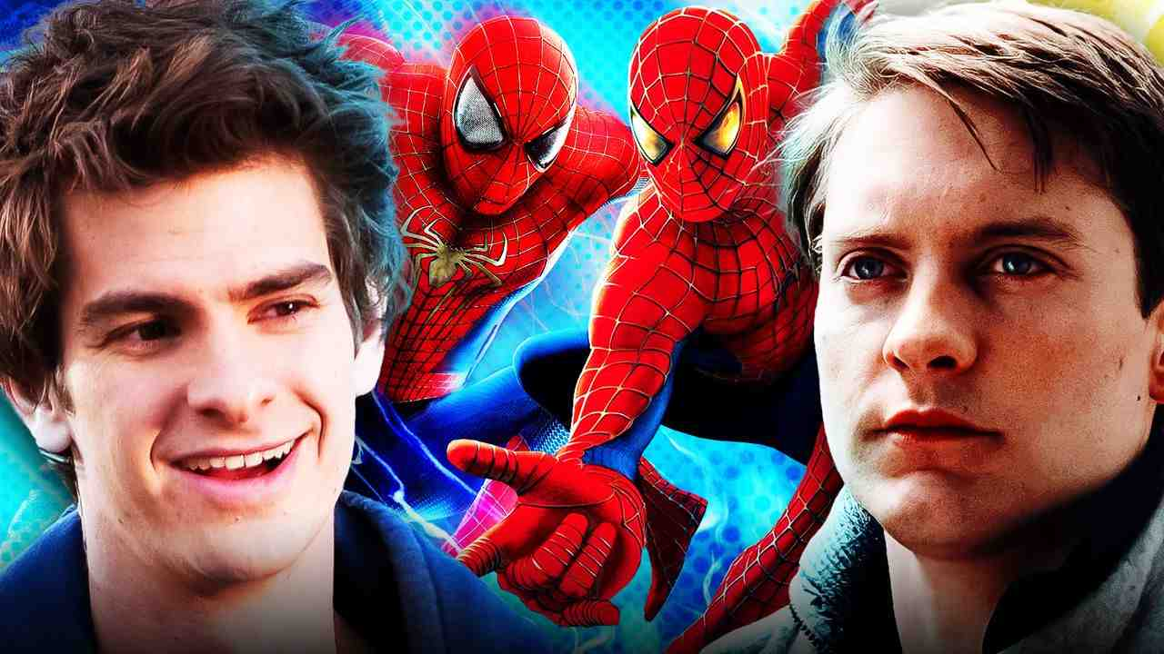 Andrew Garfield Tobey Maguire Spider-Man No Way Home