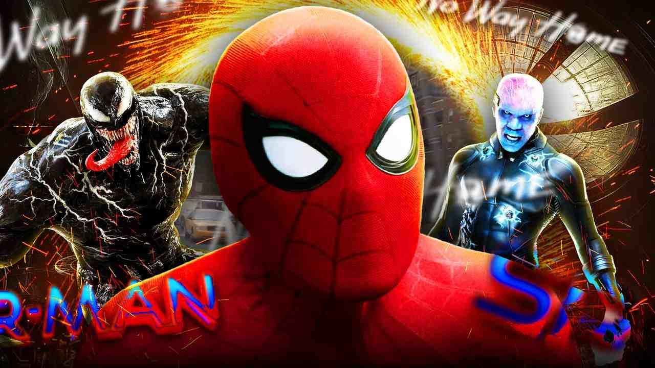 Spider-Man, Electro, Venom, No Way Home, Sony