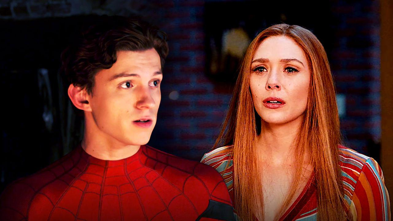 Spider-Man and Scarlet Witch