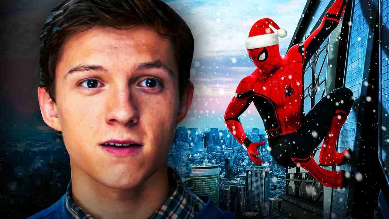 Spider-Man Peter Parker Christmas Hat