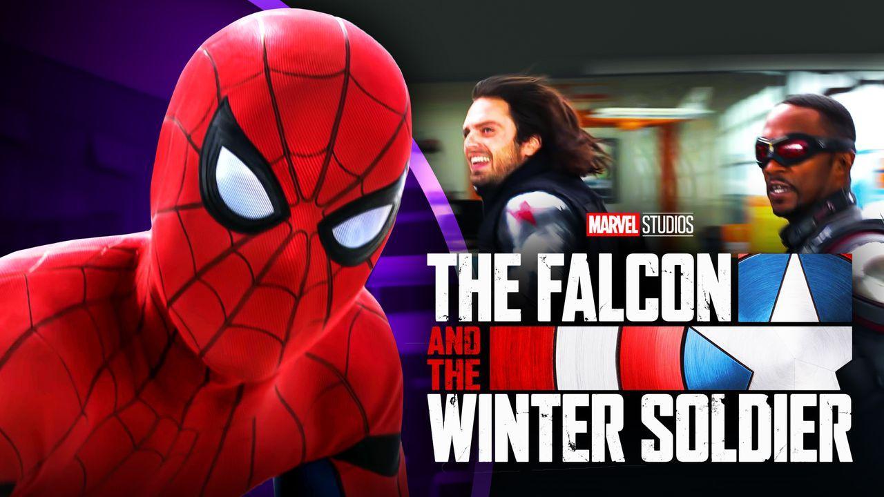 Spider-Man Falcon Winter Soldier